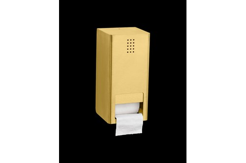 PROOX ME-300,ONE Brass Double toilet roll holder