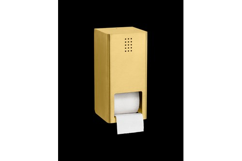 PROOX ME-305,ONE Brass Double toilet roll holder