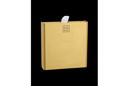 PROOX ME-400,ONE Brass Sanitary napkin disposal bin