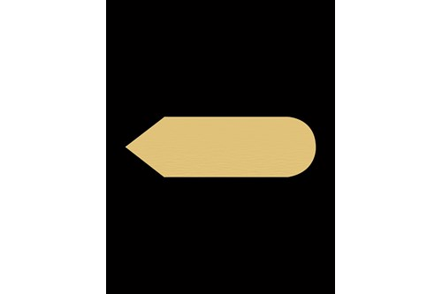 PROOX ME-817,FOUR Brass Pictogram arrow