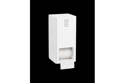 PROOX SF-305,ONE Snowfall Double toilet roll holder