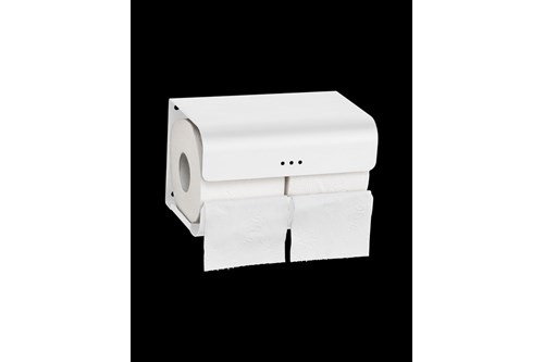 PROOX SF-382,ONE Snowfall Double toilet roll holder