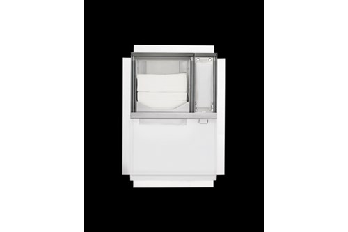 PROOX ZE-102-SF,ZERO Concealed papertowel-/soapdispenser