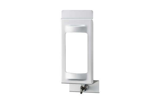 MediQo MQLP05A afsluitplaat met venster 500 ml.