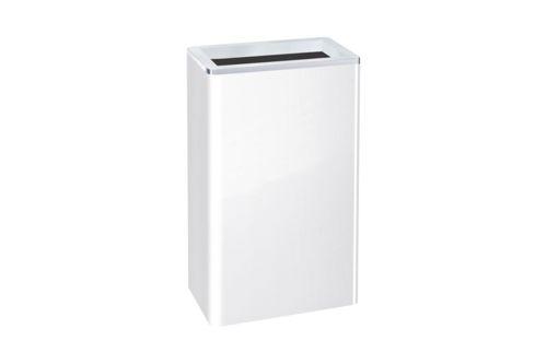 Hewi 950.05.100 SYSTEM 100 afvalbak RVS wit 25l