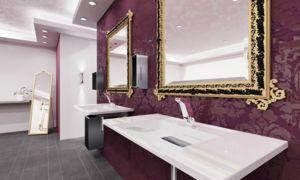 Toiletruimte hotellobby