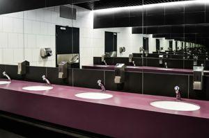 Toiletruimte kantoorgebouw