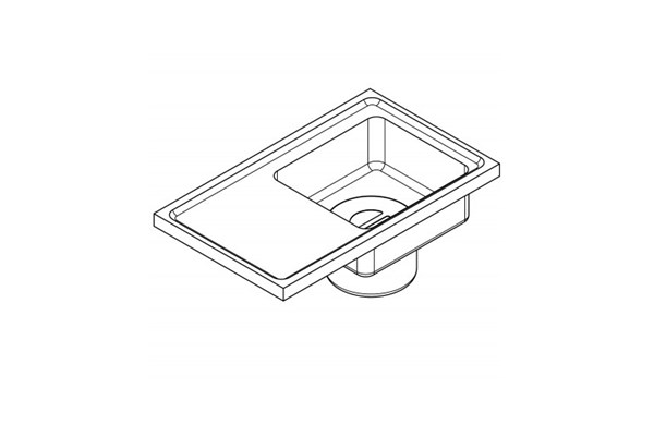Franke SIRX835,SIRIUS Plaster trap