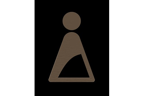 PROOX BR-811,FOUR Bronze Pictogram women