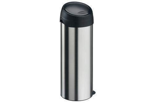 Vepa Bins 31046508 Ronde afvalbak met touchdeksel, 40 ltr