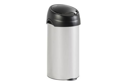 Vepa Bins 31023196 Ronde afvalbak met touchdeksel, 60 ltr