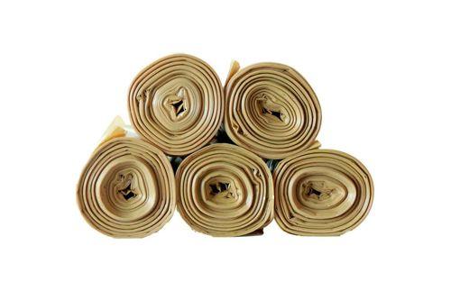 Vepa Bins 92012060 Afvalzakken BonTon Oranje 15x20 stuks