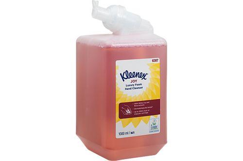 Kimberly-Clark 6387,KLEENEX JOY foam handreiniger 6x1 liter rood