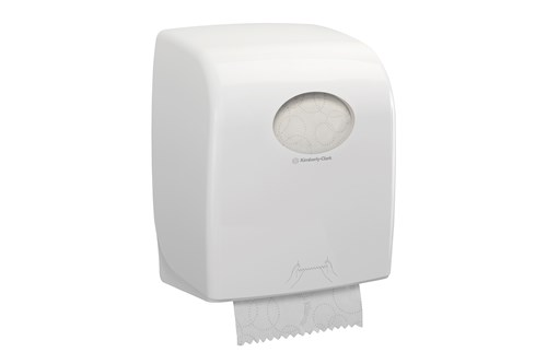 Kimberly-Clark AQUARIUS,7375 rolhanddoekdispenser wit