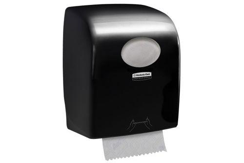 Kimberly-Clark AQUARIUS,7956 SLIMROLL handdoekroldispenser zwart