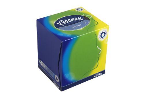 Kimberly-Clark KLEENEX,8825 facial tissue kubus wit 12x56 tissues