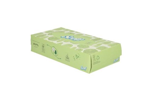 Kimberly-Clark SCOTT,8837 Facial Tissue - Standard / White 21x100