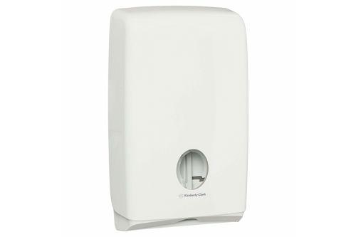 Kimberly-Clark U7024,AQUARIUS SLIMFOLD Folded Hand Towel Dispenser