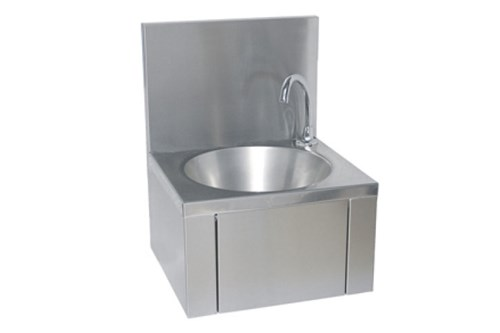 Franke LLM125.DS,ANIMA Washbasin With Knee Actuation