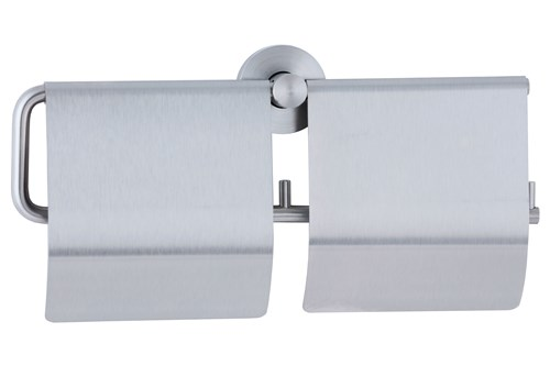 Bobrick B-548,CUBICLE Double Toilet Tissue Dispenser with Hood