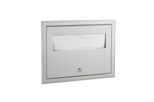Bobrick B-301,CLASSIC Recessed Seat-Cover Dispenser