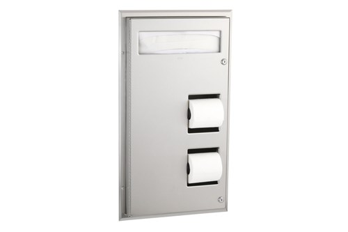 Bobrick B-347,CLASSIC Partition Mounted Combination