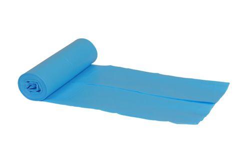 SPARKLE,80X120 LDPE afvalzak 130 liter blauw, 200 stuks