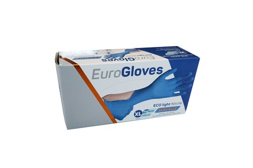 ECO NITRILE LIGHT XL-9/10 handschoenen blauw 10x200 stuks