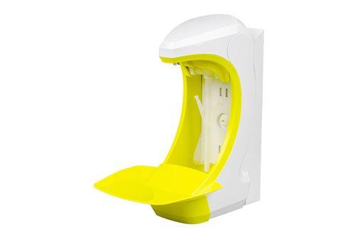 OPHARDT Hygiene Nástěnný bezdotykový dávkovač (1,5 ml) mýdla a dezinfekce 500 ml, plast