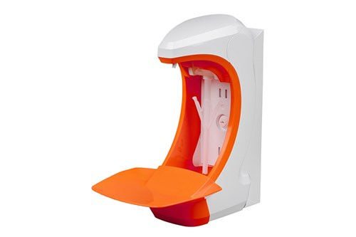 OPHARDT hygiene RX 5 T DHP (1,0 ml) Rückwand, Abtropfschale orange