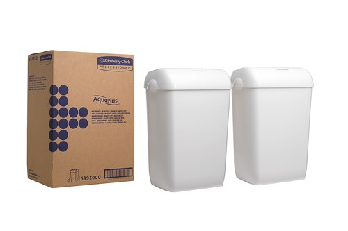 Kimberly-Clark AQUARIS,6993 afvalbak - 2 stuks