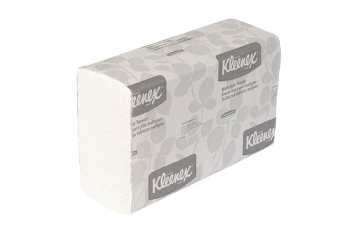 Kimberly-Clark 1890,KLEENEX handdoeken Multifold wit medium