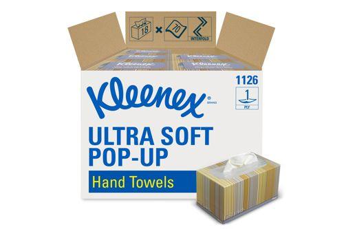 Kimberly-Clark 1126,KLEENEX ULTRA SOFT POP-UP Hand Towels