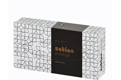 206451,SATINO PRESTIGE Facial Tissues 40x100 sheets