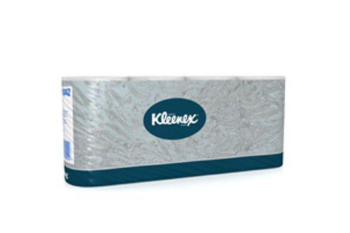 Kimberly-Clark 8442,KLEENEX toilettissue rollen standaard wit