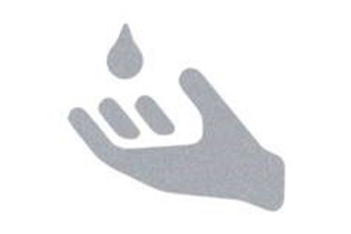 Wagner EWAR 922509 pictogram/sticker soap