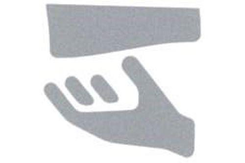 Wagner EWAR 924559 sticker met pictogram papier