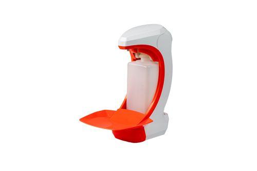 OPHARDT Hygiene Bezdotykový dávkovač (1 ml) mýdla a dezinfekce 500 ml, plast