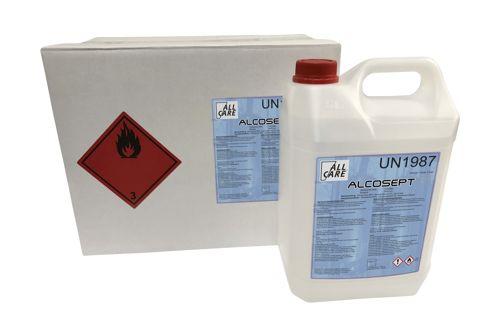 ALCOSEPT PLUS oppervlakte desinfectie alcohol 80% 5 L