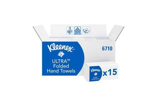 Kimberly-Clark 6710,KLEENEX ULTRA SUPER SOFT Hand Towels - Interfold