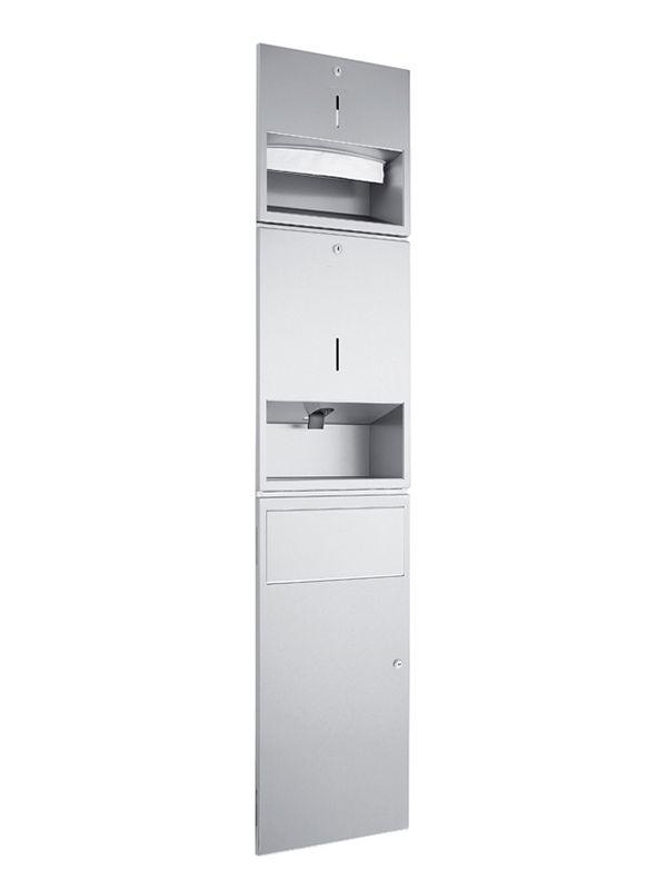 Wagner-Ewar combinatie zeep/papier/afval