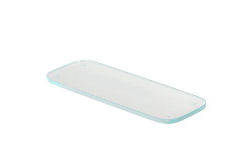 Geesa Shelf 30 cm With Transparent Glass