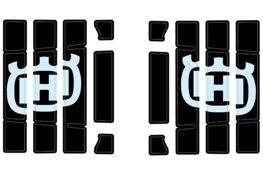 Radiator protection grille sticker kit