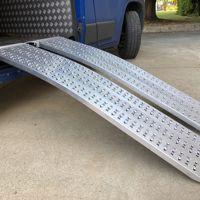 Aluminium oprijplaten - Promo Line gebogen
