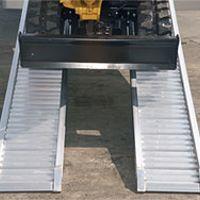 Aluminium oprijplaten - M100L serie (breder)