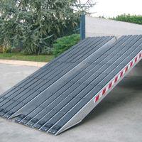 Aluminium oprijplaten - M120S serie (rubber)