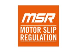 Motor slip regulation (MSR)