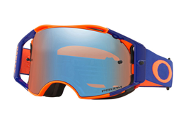 Oakley Airbrake Flo Orange Blue