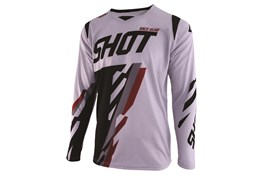 Shot Jersey Score Grey Bordeaux