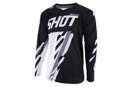 Shot Jersey Score Black White